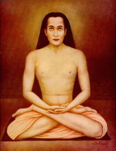 "Babaji  - Simply means ""revered father."" Though the great master's birth name and date are unknown, his subtle spiritual influence is felt throughout the world. It was he who re-introduced the ancient science of Kriya Yoga, which had been lost through the dark ages due to ""priestly secrecy and man's indifference,"" as Yogananda put it. Mahavatar Babaji, Indian Yoga, Be My Teacher, Enjoy The Silence, Self Realization, Religious Images, Spiritual Teachers, Archetypes, Namaste"
