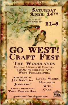 GO WEST! Craft Fest, Sat April 14