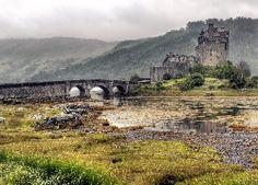 Rzeka, Most, Zamek