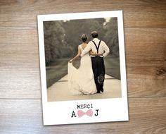 Mini polaroid like fridge manget as wedding favor