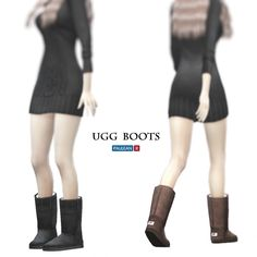 the sims 4 uggs cc