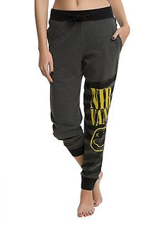 Nirvana Girls Jogger Pants, BLACK