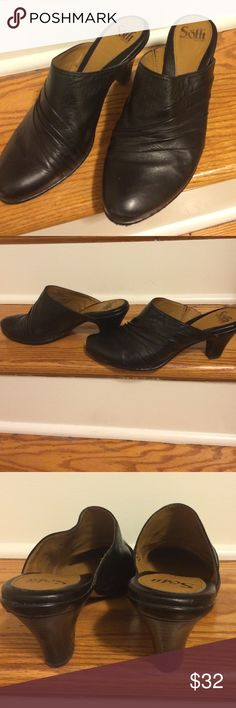 Soffit brown leather mules clogs Very nice in excellent condition brown  mules. Sofft Shoes Mules & Clogs