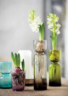 House Doctor Hyacinth Vase small - Friday Next Wooden Vase, Metal Vase, House Doctor, Flower Vases, Flower Arrangements, Floral Arrangement, Vases En Verre Transparent, Paper Vase, Clear Vases