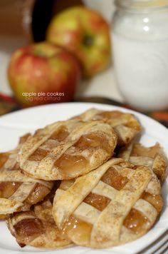 apple pie cookies fall recipe easy