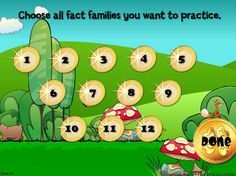 Great game for all the multiplication facts