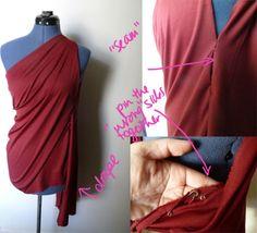 Step 1.2 DIY Goddess Costume