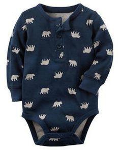 Long sleeved Bear Onesie