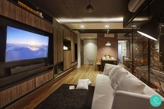 The-80s-Studio-RiverParc-Punggol-Industrial-Warmth-Living-Room-TV-Console