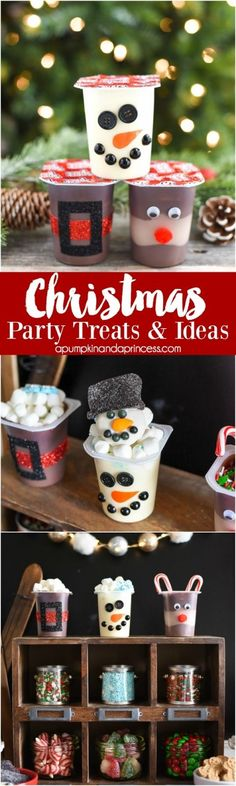 Christmas Party Ideas for Kids - Noel - christmas School Christmas Party, Preschool Christmas, Noel Christmas, Christmas Games, Christmas Activities, Christmas Goodies, Christmas Treats, Holiday Treats, Simple Christmas