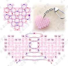 Beads Heart - Tutorial
