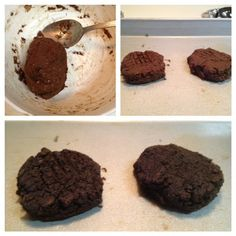 Single Serving Brownie Cookie. 72 calories. and eggnog fudge swirl protein ice cream