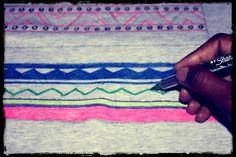 Taylor and Demolish: DIY Tribal Print Sweatshirt