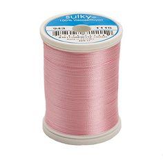 Sulky Of America 268d 40wt 2-Ply Rayon Thread, 850 yd, Li... https://www.amazon.com/dp/B004BPCQ34/ref=cm_sw_r_pi_dp_x_5ZVAybSXWV760