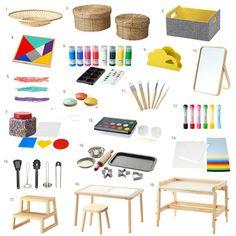 Latest Finds Ikea at How we Montessori Neueste Funde Ikea bei How we Montessori Minimalistic Playroom Montessori Playroom, Montessori Homeschool, Montessori Baby, Montessori Materials, Montessori Activities, Infant Activities, Montessori Toddler Bedroom, Montessori Elementary, Bebe Love