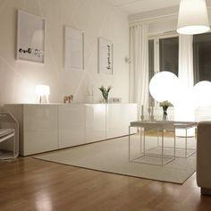 Möglichkeiten zur Nutzung von Ikea Besta-Einheiten im #Home #Decor