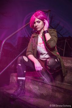 Abigail 'Fetch' Walker from InFamous: Second Son || Photographer: Christian Gschweng Fotografie || #cosplay #infamous #secondson #fetch #abigailwalker #photomanipulation #realcosplay #game #gamergirl #awesome #amazing #fetchcosplay #abigailwalkercosplay #infamouscosplay