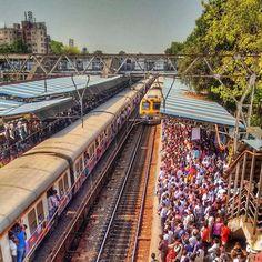 The lifeline of Mumbai. Mumbai City, India And Pakistan, World View, Dream City, Largest Countries, Incredible India, Amazing, City Photography, India Travel