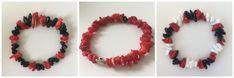 #etsyshop #beadedbracelet #stretchbracelet #coralbracelet #onyxbracelet #agatebracelet Coral Bracelet, Stretch Bracelets, Etsy Shop, Trending Outfits, Unique Jewelry, Handmade Gifts, Accessories, Vintage, Kid Craft Gifts