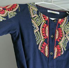 "EUC (Mint) Anthropologie Hei Hei Tunic This is Anthropologie's Agonda Peasant tunic by Hei Hei. It's a size 4 and in mint condition. Please check the measurements, as  this has little give:  Pit to pit: 17"" on the dot, 28"" L at the lengthiest point down center,  up to 19"" at waist, untied. Stunning, stunning, stunning top in person. Anthropologie Tops Tunics"