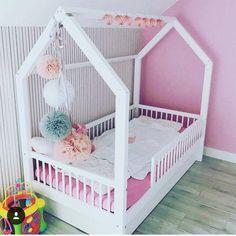 Pioli Plus | Etsy Baby Room Diy, Baby Bedroom, Baby Room Decor, Girls Bedroom, Cute Bedroom Ideas, Girl Bedroom Designs, Awesome Bedrooms, Toddler House Bed, Toddler Rooms
