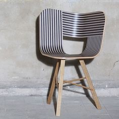 Striped Tria Chair by Colé   MONOQI