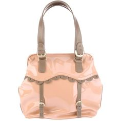 See by Chloe Patent tote via Polyvore