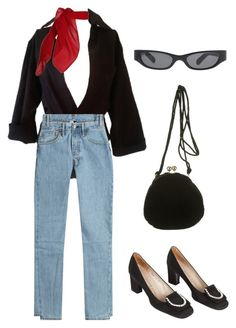 """""""Untitled #774"""" by lucyshenton ❤ liked on Polyvore featuring Dsquared2, TC Fine Intimates, Vetements, Pierre Cardin, Acne Studios and Judith Leiber"""