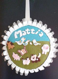 Fiocco nascita per Mattia