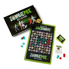 ZOMBIEPOX- fight the spread of #zombies threatening to take over the town in this game that promotes vaccination #health #games