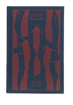 """Clothbound Penguin Classics (""""A Tale of Two Cities,"""" by Charles Dickens) designed by Coralie Bickford-Smith. (Series 4)"""