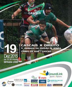 JOGOS FIM DE SEMANA 19 E 20 DEZEMBRO - Cascais Rugby