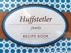 Printable Family Recipe Book