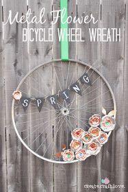 *SWEET HAUTE*: Spring Wreaths DIY Style