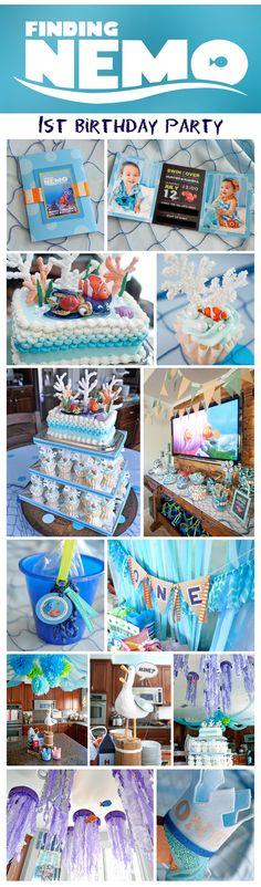 Finding Nemo Birthday Party | Under the Sea Adventure