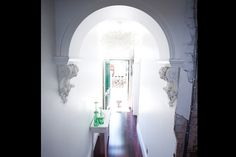 Brad and Lara's Entrace Hallway - love that arch!