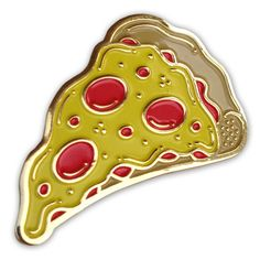 #pizza lapel #pin by Night Watch