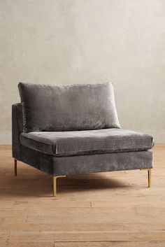 Anthropologie Slub Velvet Edlyn Chair #anthroregistry