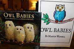 Owl Babies Lapbook~Homeschool Unit