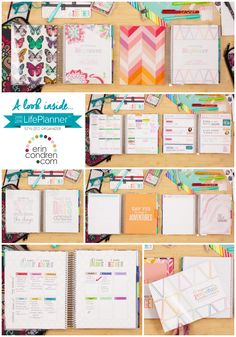 A look inside the new 2015/2016 @erincondren Life Planner. How will you plan?