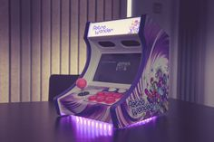 Arcade Stick, Mini Arcade, Retro Arcade, Arcade Bartop, Arcade Machine, Diy Cabinets, Pinball, Arcade Games, Game Room
