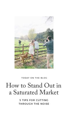 How to Stand out in a Saturated Market (for Photographers, Planners and Creative Business Owners) Business Profile, Business Advice, Start Up Business, Business Entrepreneur, Online Business, Business Education, Business Goals, Business Management, Business Proposal