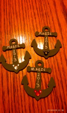 Magic Cruise magnets - gave as FE gifts