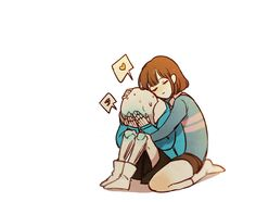 Undertale | Sans and Frisk | Love
