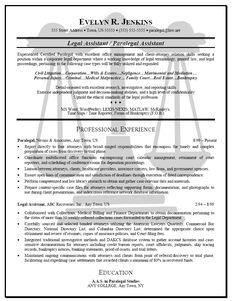 Legal Case Manager Resume Sample (resumecompanion.com