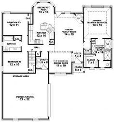 Winhurst house plan