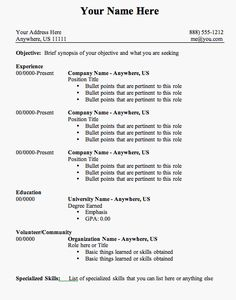 Amazing Resume Samples | Sample Cover Letter – General | Jobs ...