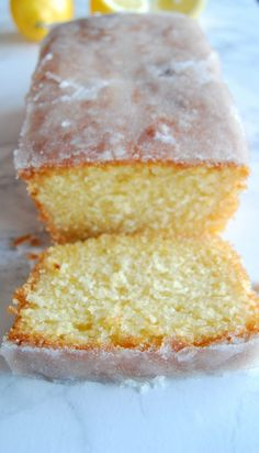 This moist Lemon Cake Recipe is fluffy, tangy and so easy to make from scratch! Every bite of this supremely moist pound cake is bursting with lemon flavor. If you like the Starbucks Lemon Loaf then you'll love this homemade lemon pound cake! Best Lemon Drizzle Cake, Lemon Loaf Cake, Pound Cake, Mary Berry Lemon Drizzle Cake, Lemon Cakes, Easy Lemon Sponge Cake Recipe, Easy Lemon Cake, Eggless Lemon Cake, Gluten Free Lemon Drizzle Cake