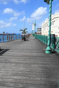 Bridgetown Boardwalk, Barbados