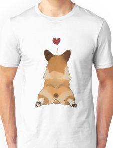 Corgi butt <3 Camiseta unisex